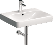 Washbasin Kolo Traffic 75x48 cm, taphole in the middle