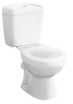 Standing WC combi Multi Eur, back waste, 64cm