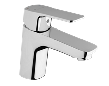 Basin mixer tap standing Optima Cube Way without a drain