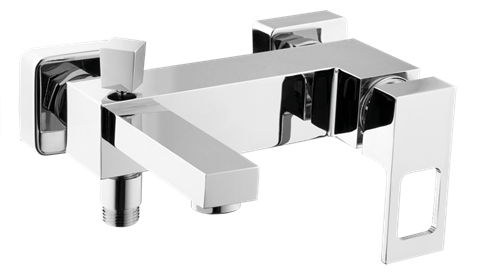 Bathtub mixer tap wall-mounted Optima Levanta without a shower set, 150 mm