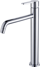 High sink  taps standing Optima Sofie without a drain