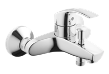 Bathtub mixer tap wall-mounted Grohe Eurosmart New without a shower set