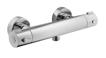 Shower mixer tap wall-mounted Optima Optima without a shower set, 150 mm