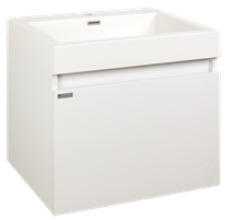 Cabinet with sink Naturel Verona 60 cm, White