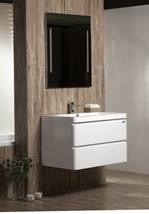 Cabinet with sink Naturel Pavia Way 85 cm, White
